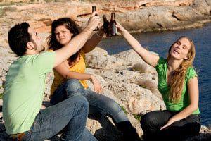 teenage drinking spring break