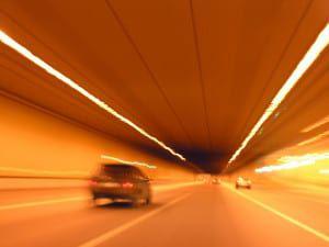 tunnel car