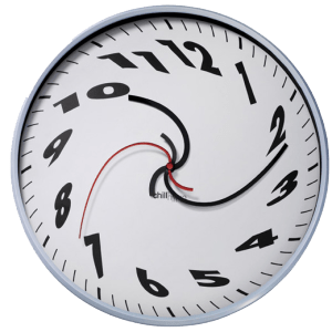 warped clock