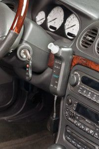 How does an ignition interlock work?